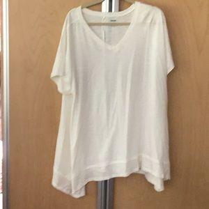 Lane Bryant 18/20 white swing top